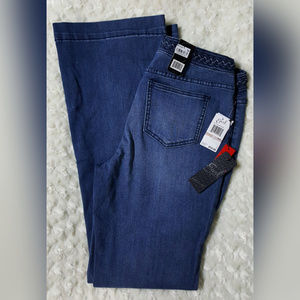 Earl Braided Waist Flare Jeans Size 00